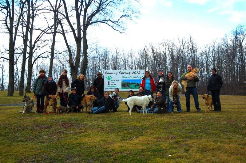Beacon Dog Park volunteers