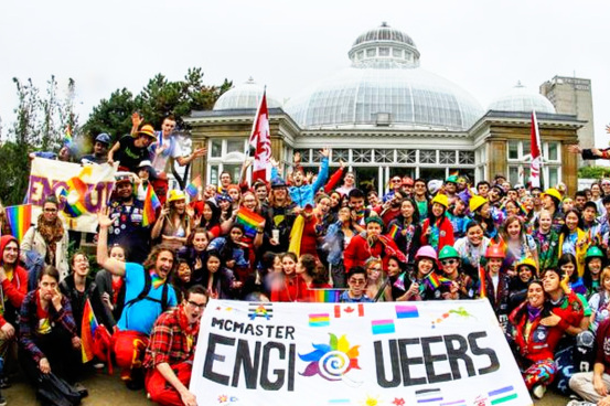 Who are the EngiQueers? - It all started in June 2013, when five engineering students from McMaster University attended Toronto Pride. Inspired by the movement, they started a student club focused on social events.Today, EngiQueers Canada is a nationwide non-profit organization that represents over 30 similar member groups at engineering schools across the country.