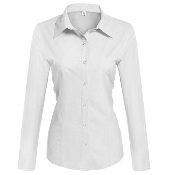 White Button Up $22 - Amazon Prime