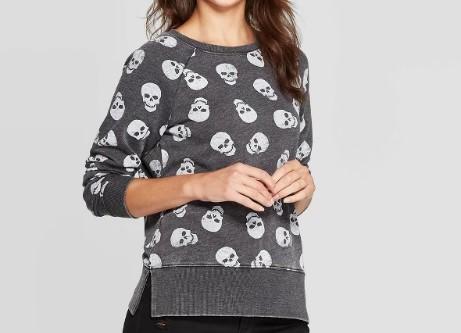 Skull Sweatshirt $19.99 - Target