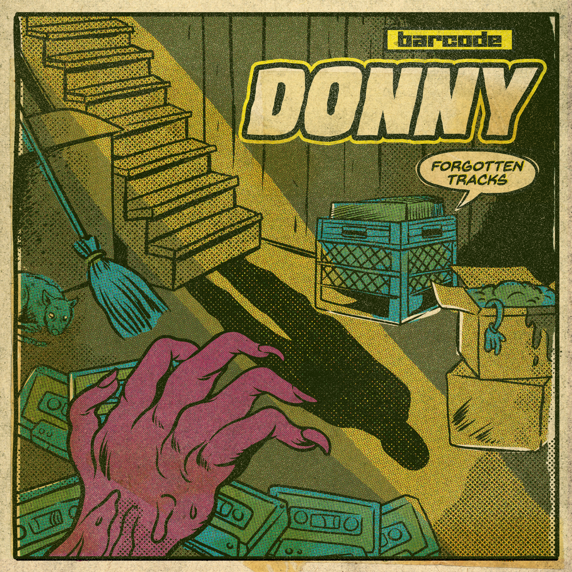 latest release - Donny feat Current Value, Audio & DJE - The Forgotten Tracks
