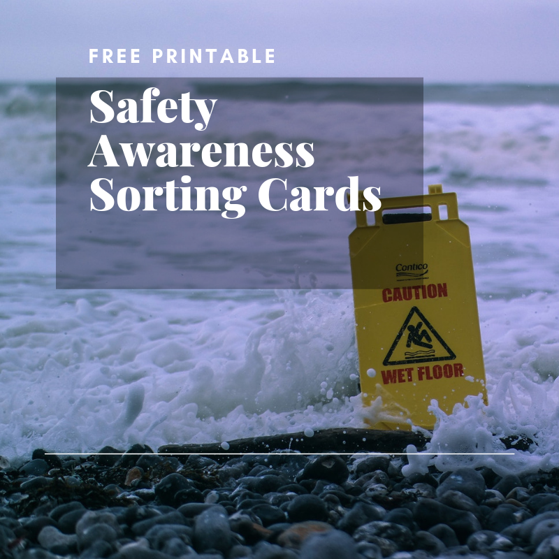 Safety Awareness Sorting Cards