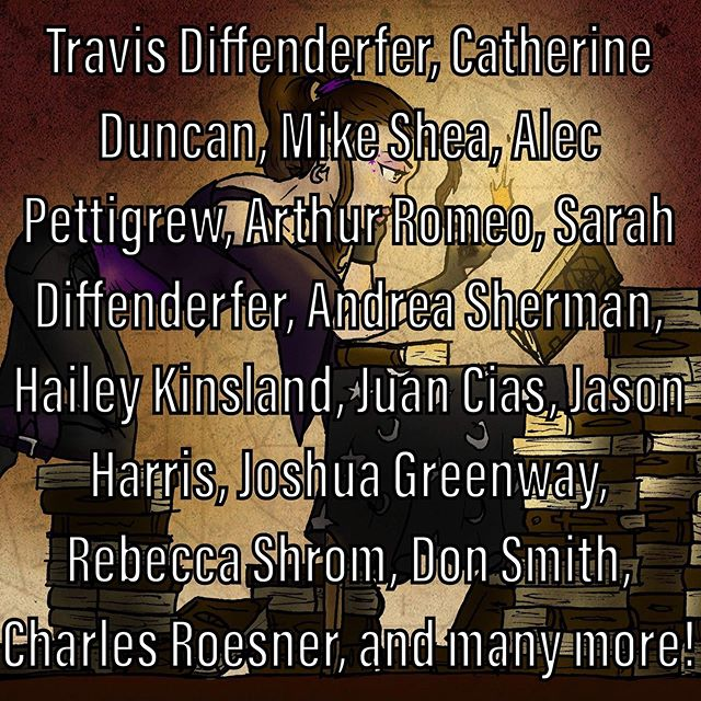 Meet the incredible cast of Dead Sirius! What a powerhouse list of entertainers.