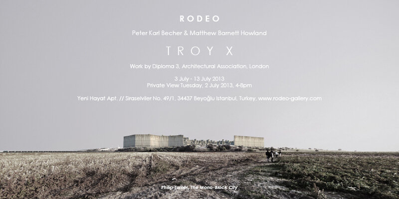 Troy X at Rodeo, Istanbul . Phil Turner . AA