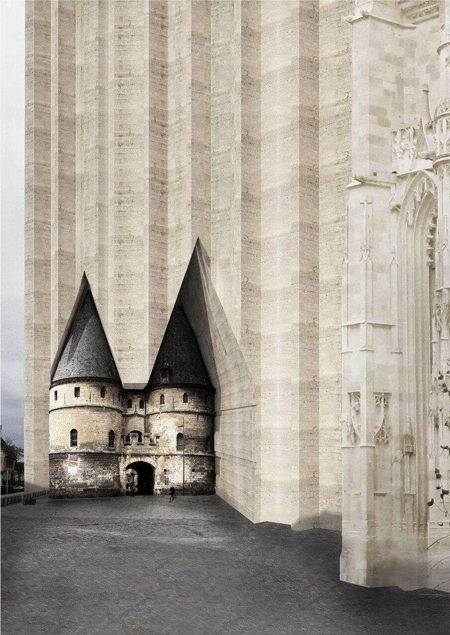Completing Beauvais Cathedral . Joy Sriyuksiri . AA