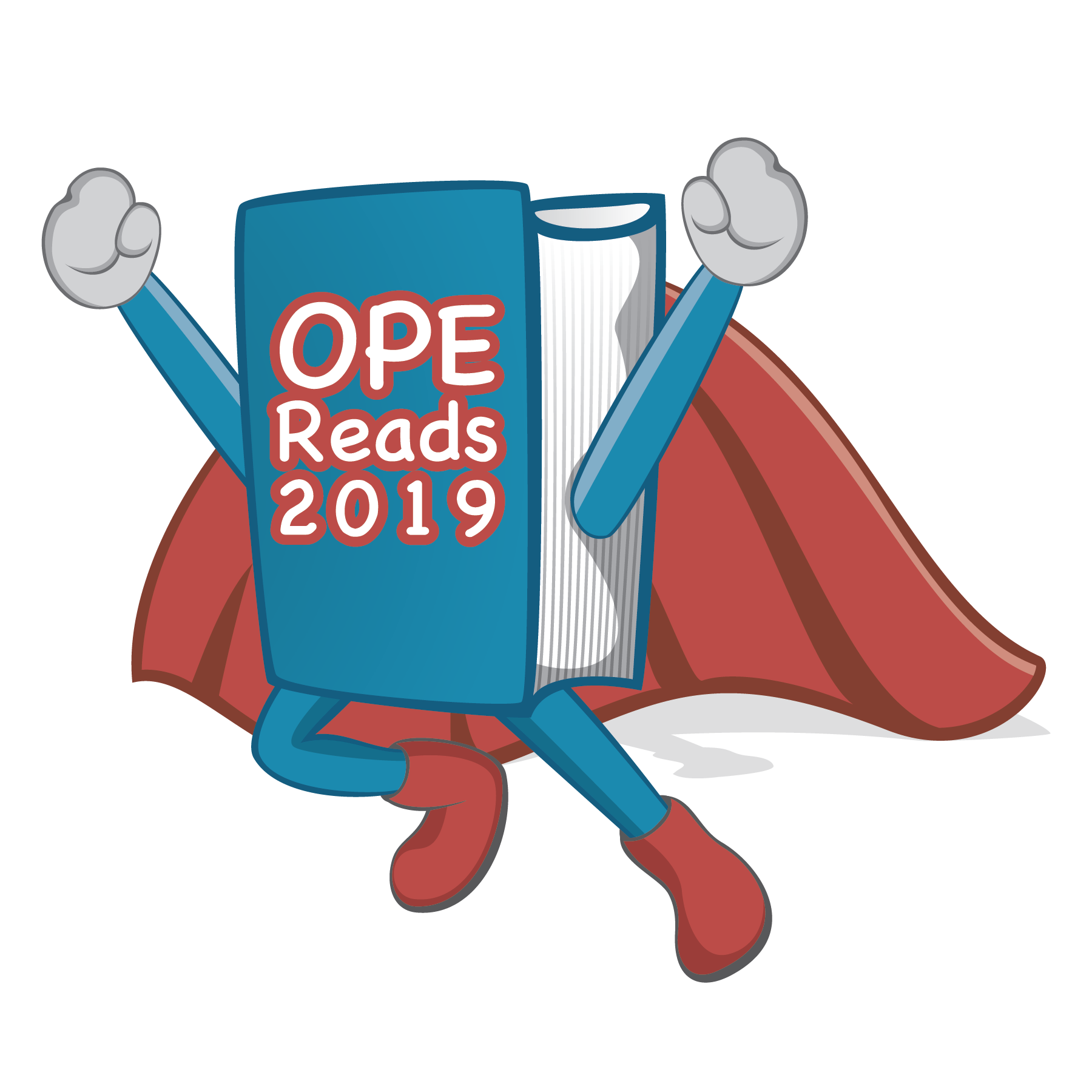 "Be a Reading Superhero! - We are proud to announce the annual launch of OPE READS, a 16-week, school-wide reading competition that challenges students to read books outside of the classroom to earn prizes and medals as they achieve their reading minute goals. This year's slogan is ""Be A Reading Superhero!"" with a fun hero theme."