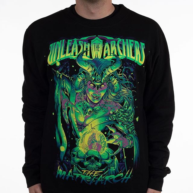 """""""The Matriarch"""" print is now available in a crew neck sweater. Link is in our profile, go grab one!!!"""