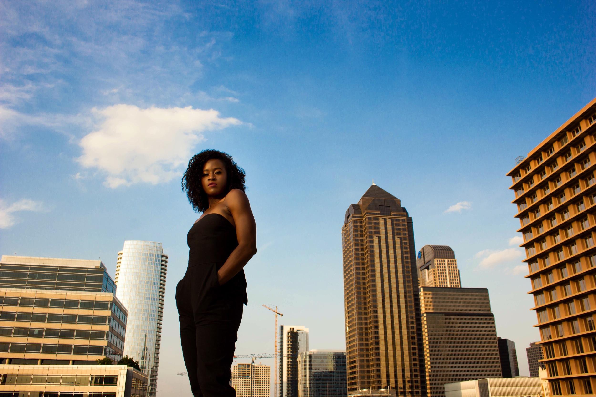 Hana Delong of the  Dallas Black Dance Theatre