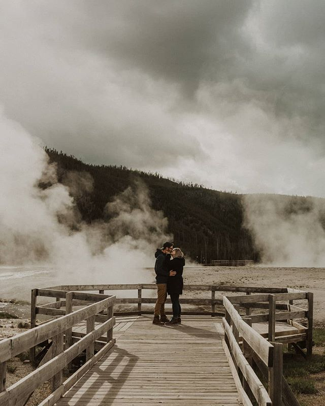 Post apocalyptic scenery or just Yellowstone National Park? Who really knows these days. . . . #couple #travelphotography #dirtybootstravel #fraservalleywedding #fraservalley #abbotsfordelopement #abbotsford #abbotsfordwedding #chilliwackwedding #chilliwack #thefraservalley #engagementphotographer #couplesphotography #yellowstone #destinationweddingphoto