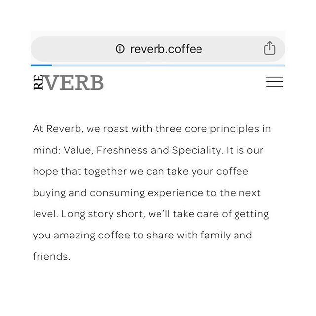 New website, who dis? . . Check out our new site! All coffee available to order, shipped fresh on the day it's roasted. . . . #reverb #reverbroasters #reverbcoffee #coffee #memphiscoffee #choose901 #coffee901 #memphistn #memphis #coffeeroasting #coffeeroasters #womenincoffee #coffeecoffeecoffee #coffeebeans #coffeewebsite #coffeeallday