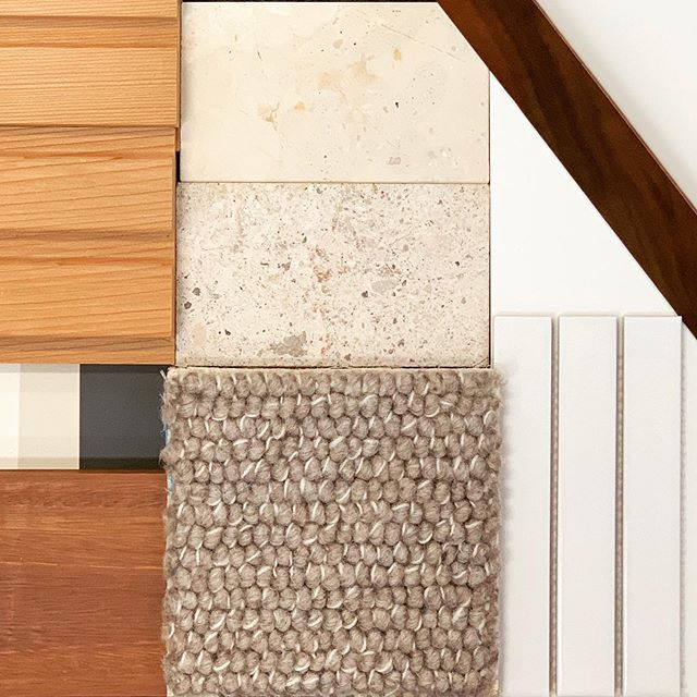 finishes + longman residence ... natural stone ... spotted gum ... matte ceramics ... warm neutrals ... textured carpet ... elegant colour palette #longmanresidence #watchthisspace #interiorlover #loverwhereyoulive #interiorandpeople #designphilosophy #palette #finishes #queenslandinteriors #brisbanearchitecture #queenslandarchitecture #modernarchitecture #architecturenow #architectureandpeople