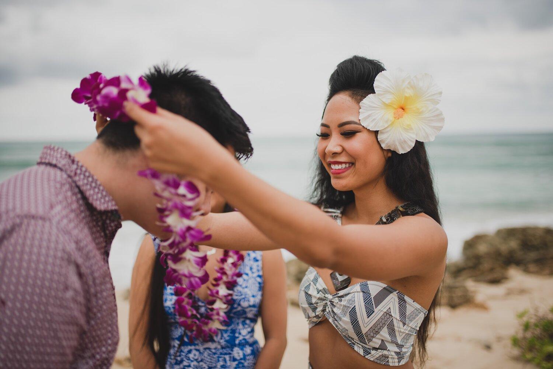 Hawaiian Lei Greeting — Princess Roti's Polynesia