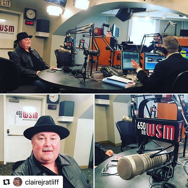 #Repost @clairejratliff with @make_repost ・・・ Tune in now! @wsmradio @billcodywsm hosting #bluegrass stalwart Audie Blaylock of @audieblaylockandredline to preview #newmusic #greatmusic #acousticmusic #bluegrassmusic