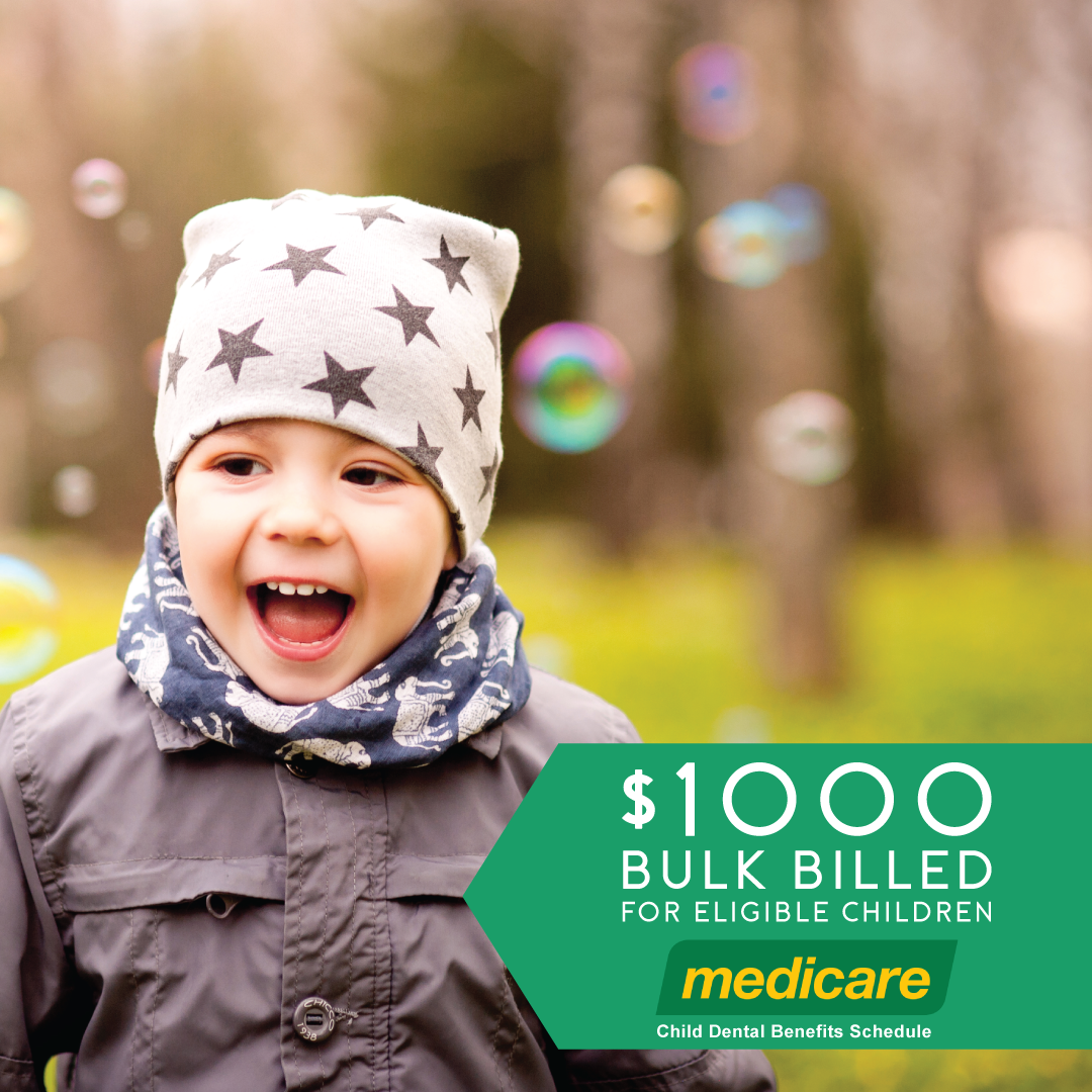 is your child eligible? - The Medicare Child Dental Benefits Schedule offers $1000 of routine dental treatment to eligible children.