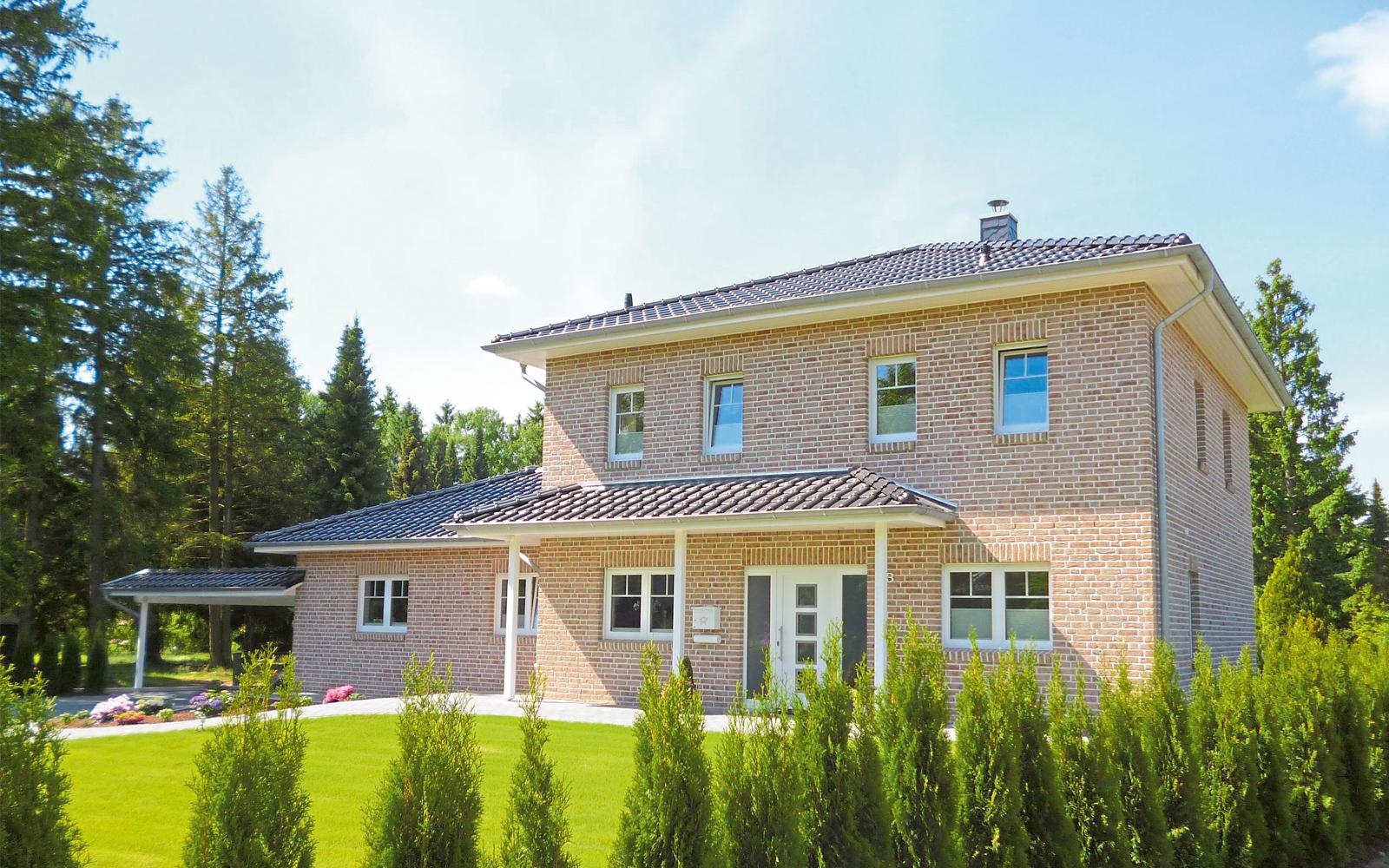 Modernes von Christian Wildtraut geplantes Einfamilienhaus in Jesteburg.