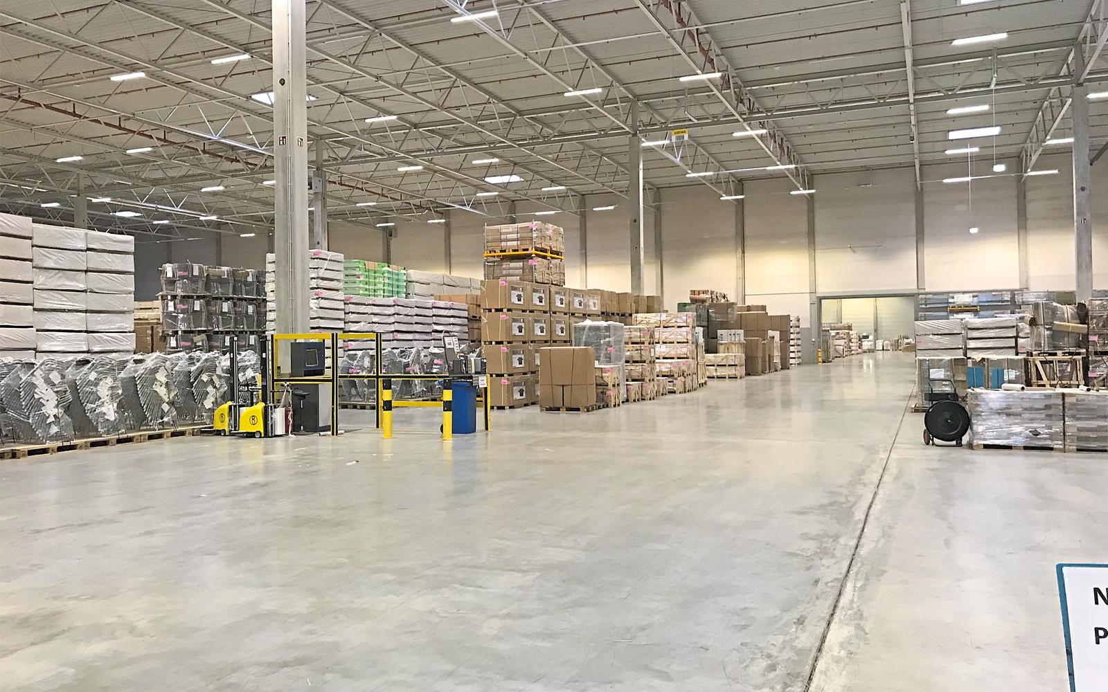 Lagerkapazitäten für Kunden verschiedenster Größenordnungen hält das SLC bereit.