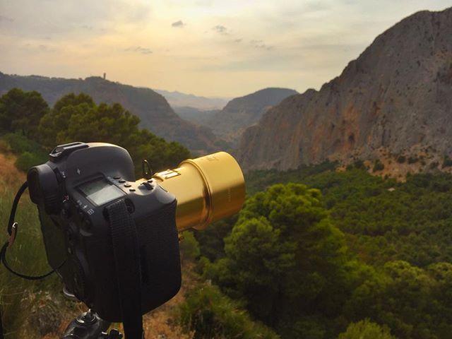 Creating visual notes  for new body of work with my Petzval in the Huma Range, Spain.#whereisjesperwestley #elchorro #camanitodelrey #landscapephoto #lomography #jesperwestleyphotography #bornholm