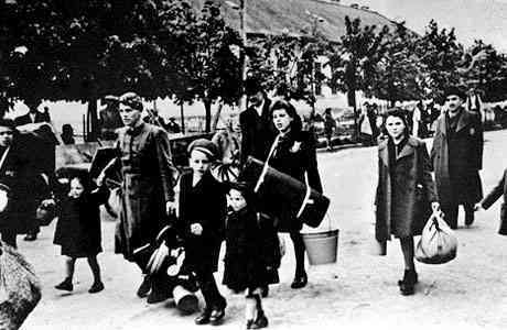 'The Terezin Ghetto' Photo credited to SHOAH accessed by The Jewish Virtual Library