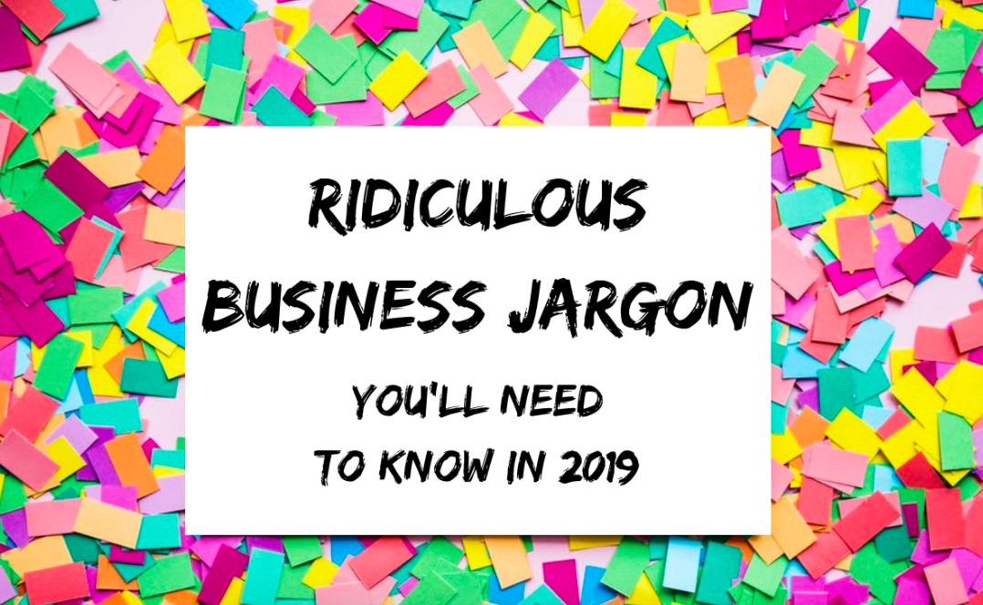 business jargon 2018