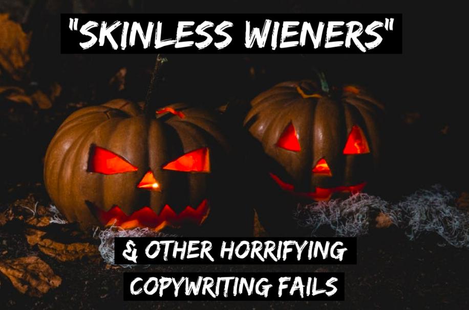 copywriting fails - halloween