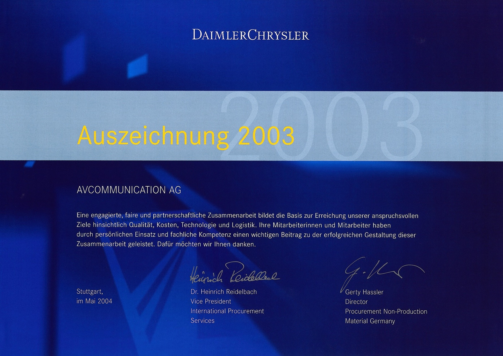 DaimlerChrysler_premium supplier award_2003.jpg