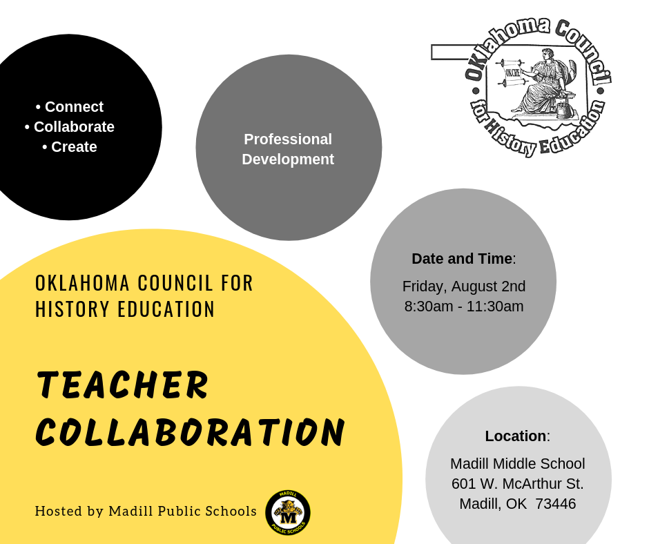 teacher collaboration - We serve teachers across the state with relevant and engaging professional development experiences. Our first Collaboration Day event will be held on August 2nd, 2019. It will be hosted by Madill Public Schools. Join us for engaging professional development where you will connect, collaborate and create!