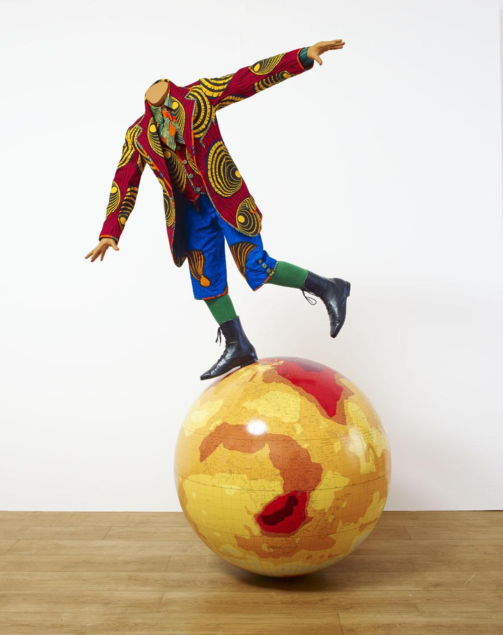 Boy on a Globe