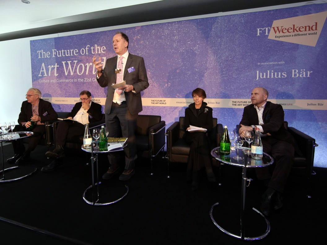 Davos, Switzerland - TAFETA, Director, Ayo Adeyinka, selected as an invited guest to the FT hosted conference; The Future of the Art World: Culture and Commerce in the 21st Century. Part of the FT at Davos 2015 programme - January 2015