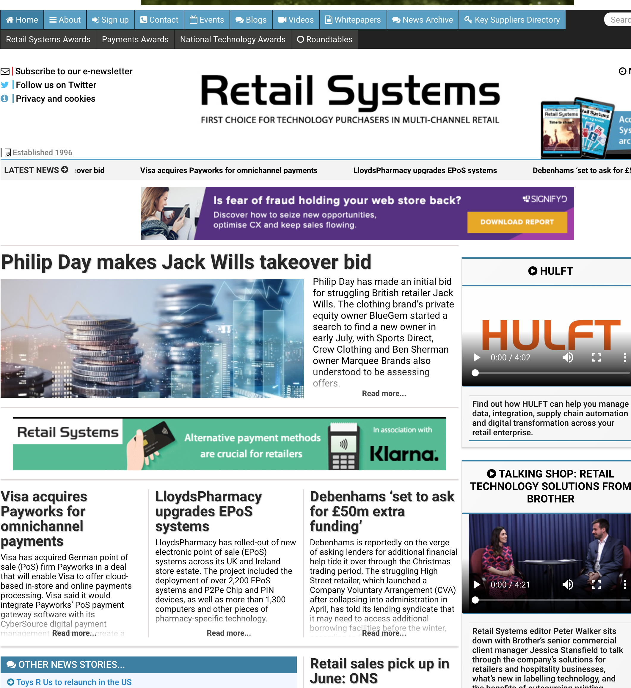 Retail Systems Magazine