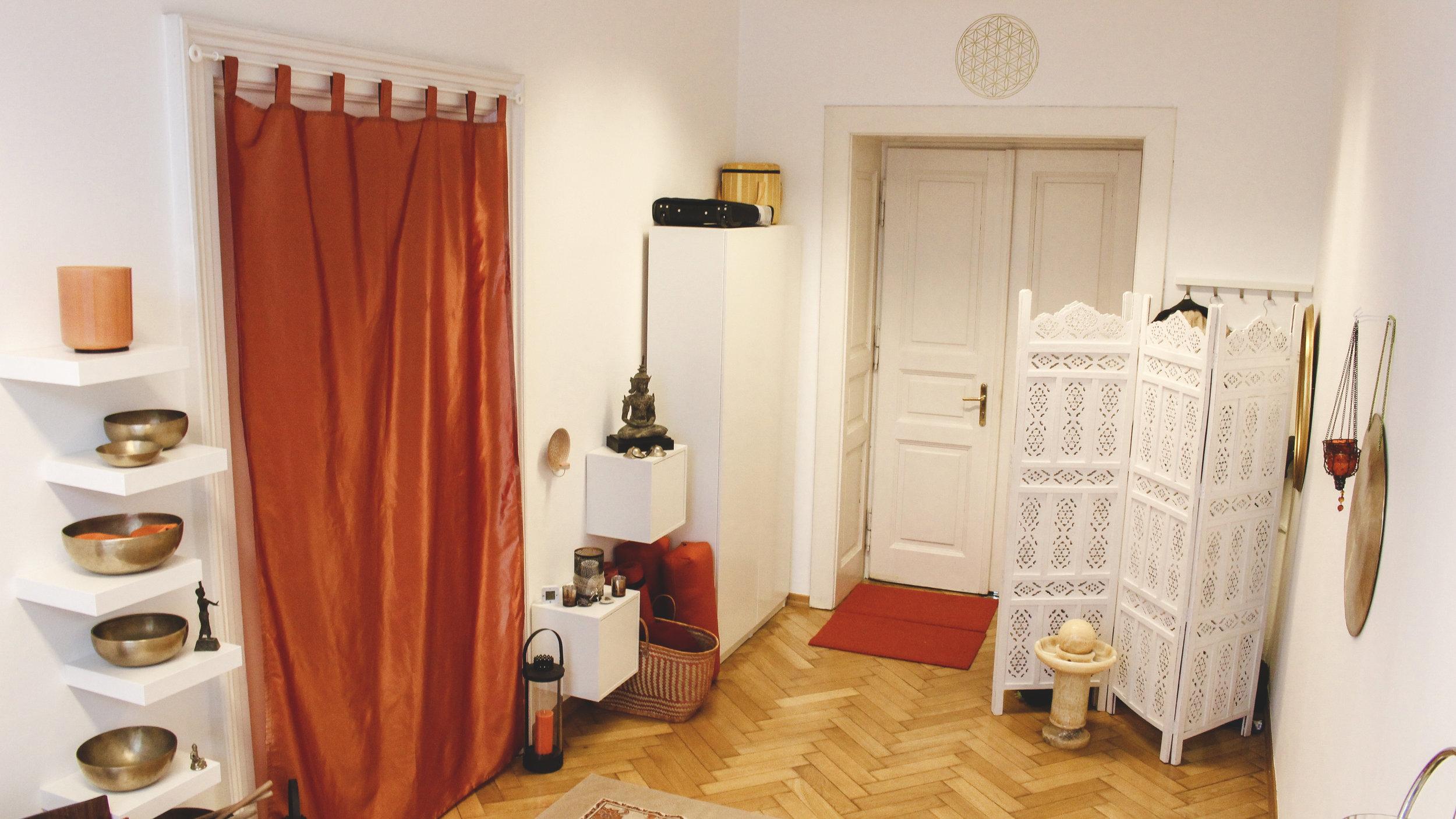 Yoga-Klang-Studio in Innsbruck