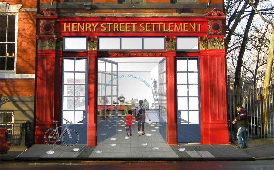 O'Neill Rose Architects is shortlisted for a project to transform a historic firehouse into a community center for the Henry Street Settlement.