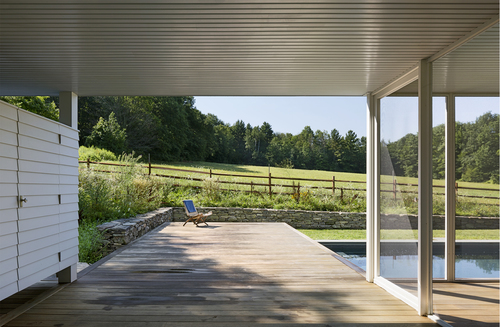 OR+A's Rhoades and Bailey pool and pavilion was named Gardenista's pool of the week.