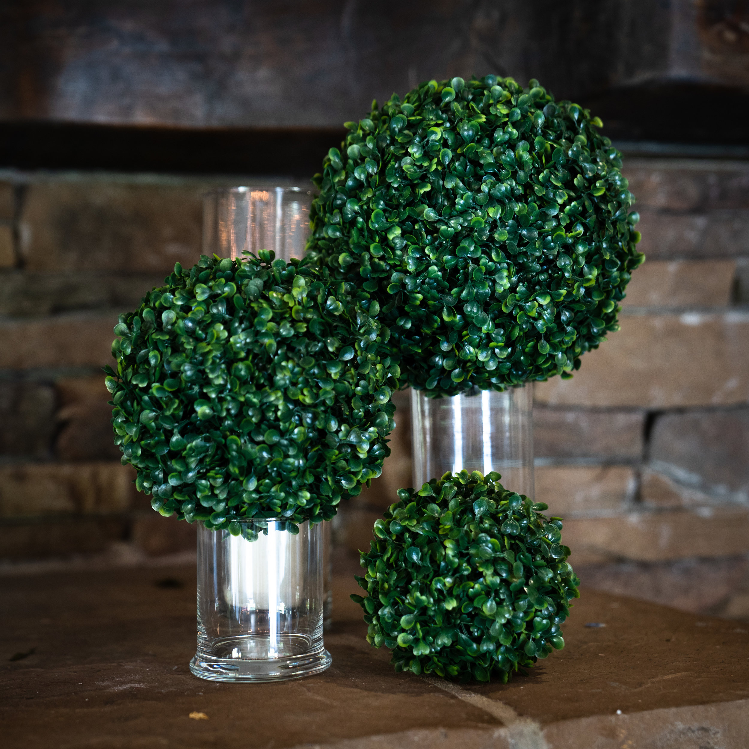 Boxwood Topiary Balls Best Artificial Hedge Boxwood Brothers