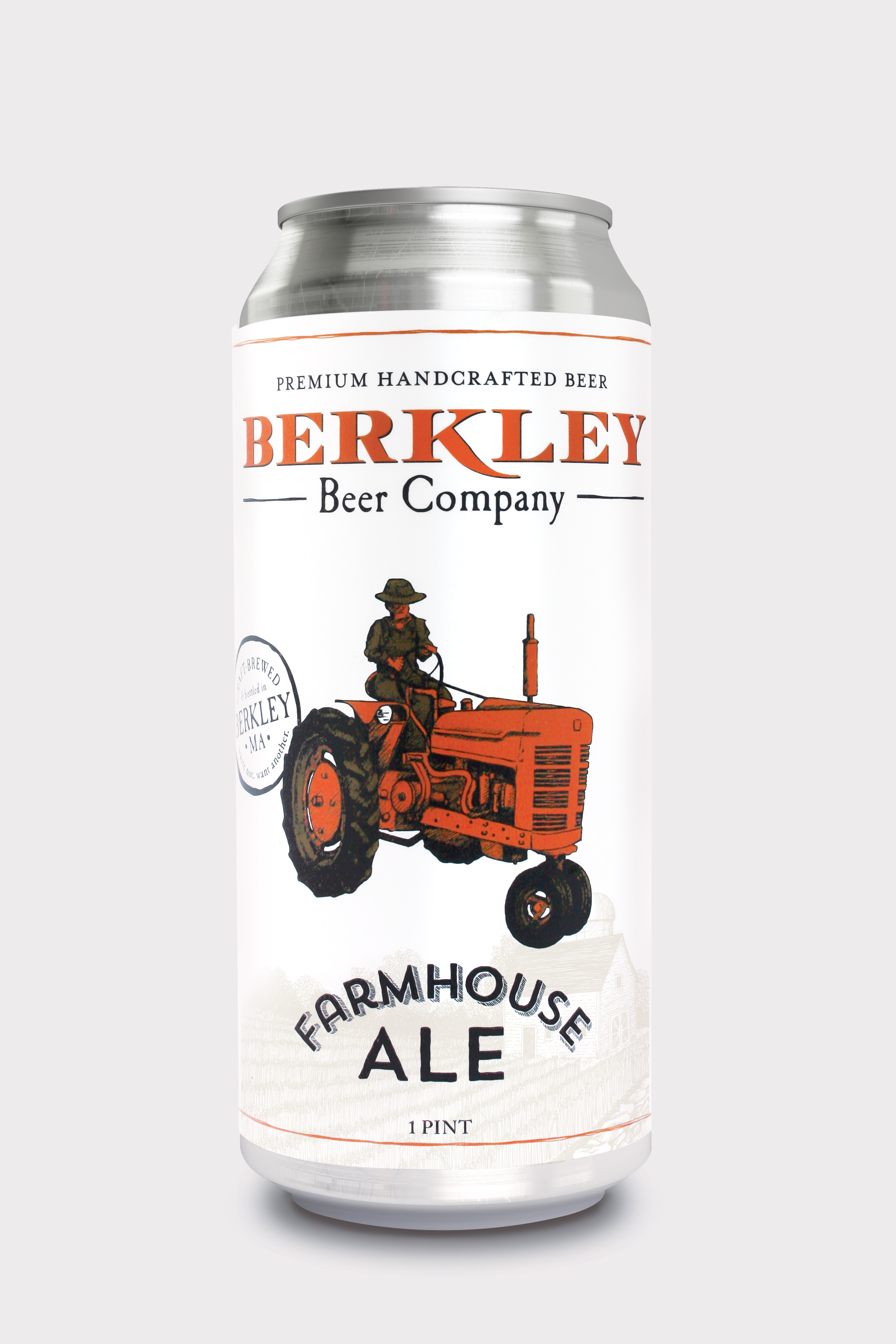 Farmhouse Ale 5%  The Berkley Farmhouse Ale is our version of a saison. Carefully brewed with specialty hops and citrus undertones, this well-balanced summer ale is purely refreshing.