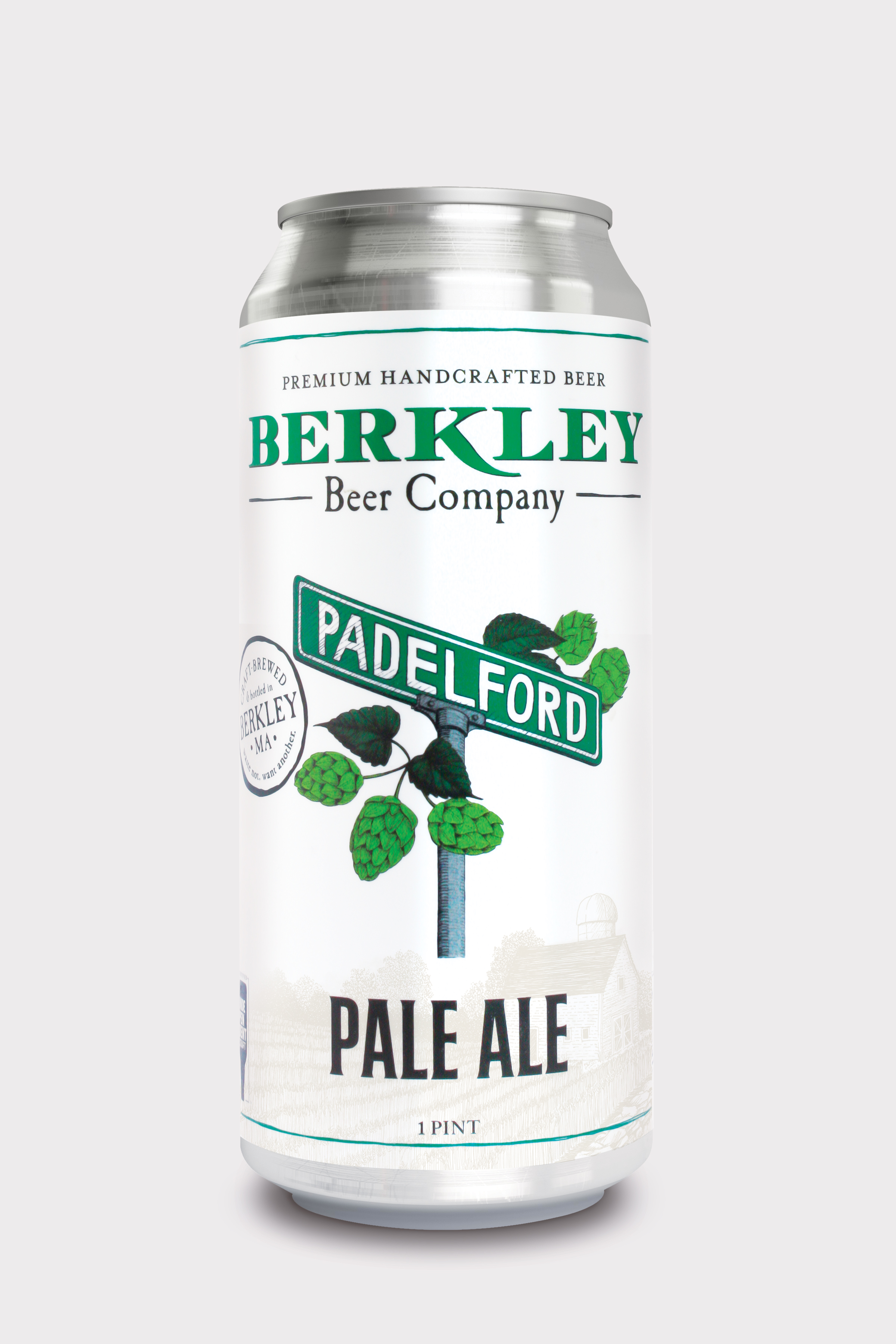 Padelford Pale Ale 5%  A New England-style pale ale with four tropical fruit -forward hops, flavors of juicy pineapple, peach, melon and mango and soft bitterness to balance the malt