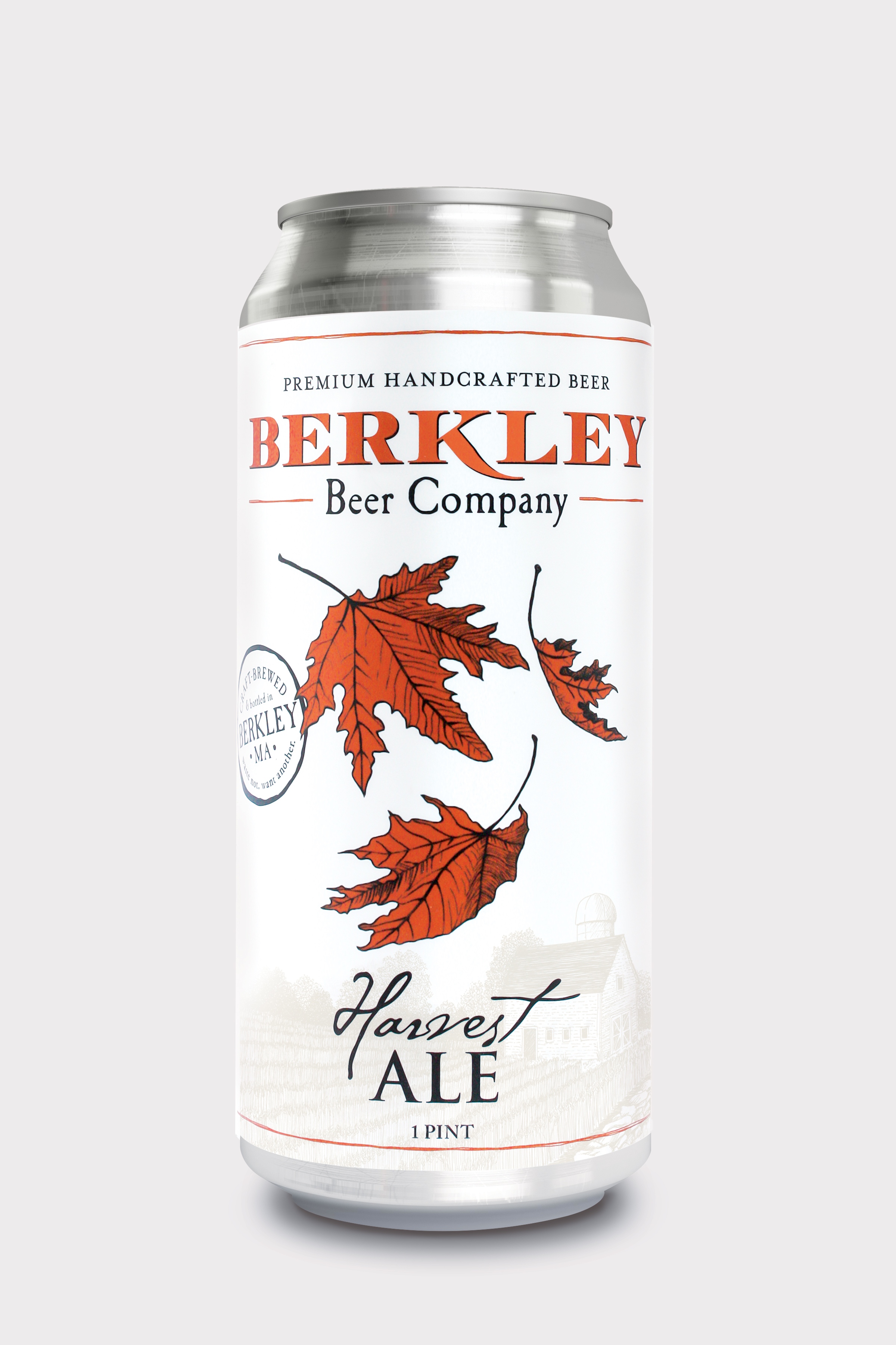 Harvest Ale 6%  The perfect blend of sweet and savory is the distinctive feature of Berkley's Harvest Ale. It's rich, malty flavor, makes this Oktoberfest-style ale not only very drinkable, but also the ideal autumn treat.