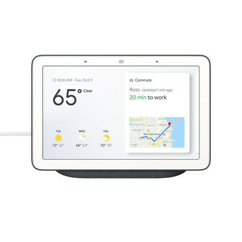 Google Home Hub w/ Google Assistant    via eBay   List Price: $149   Today's Price: $60