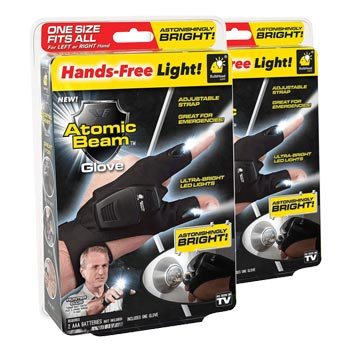 Set of TWO (2) Atomic Beam Flashlight Gloves    via meh.   List Price: $20   Today's Price: $6