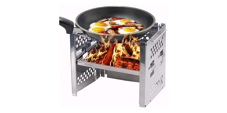 Unigear Wood Burning Portable Camp Stove    via woot!   List Price: $27   Today's Price: $17