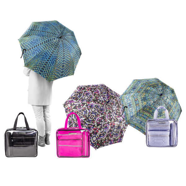 Aimee Kestenburg 5-Piece Storage & Umbrella Set   List Price: $34   Today's Price: $14    via meh.