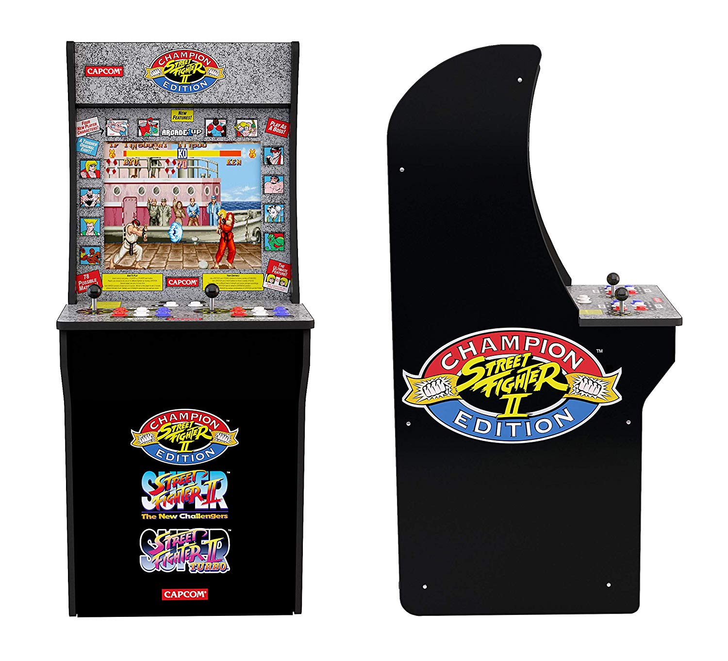 Street Fighter Classics 3-in-1 Home Arcade Cabinet   List Price: $300   Today's Price $187.50 — 37% off!    via Amazon