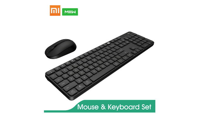 XIAOMI Miiiw Wireless Mouse and Keyboard Set   List Price: $36   Today's Price: $26 — 28% off!    via 1sale