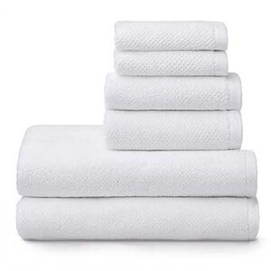 Welhome Franklin Cotten Textured Towels (Set of 6)   List Price: $31   Today's Price: $31 (26% off!)    via Amazon