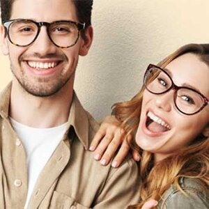 "Glasses - BUY ONE PAIR, GET ONE FREE    2 Pairs of Glasses from 12.95 w/ Promo Code ""GSBOGO""    via 1Sale"