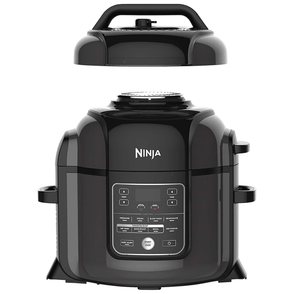 Ninja Foodi 8-Quart All-In-One Cooker   Regular Price: $279   Today's Price: $129 (53% Off!)    via meh.