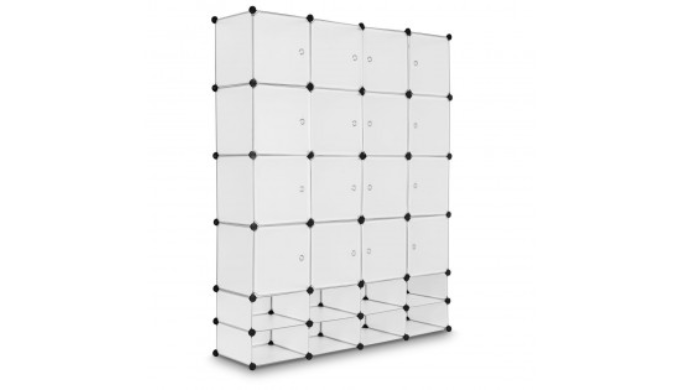 16+8 Cubes Portable Clothes Storage Closet   Regular Price: $88   Today's Price: $60 (32% Off!)    via 1Sale