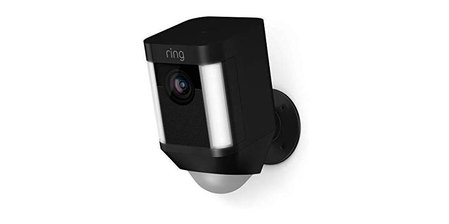 Ring Spotlight Wired Cam (Factory Reconditioned)   Reg price: $200   Today's Price: $130 (35% off!)    via woot!