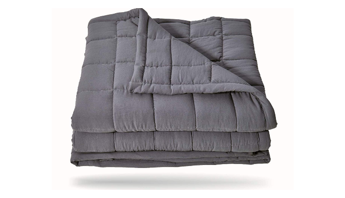 Premium Weighted Blanket w/ Removable/Washable Cover   Reg Price: $80   Today's Price: $48    via 1Sale