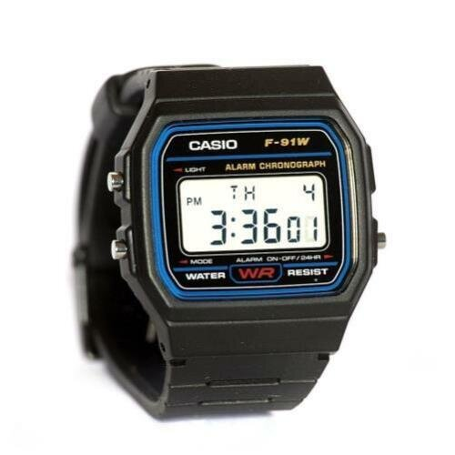 Casio Classic Black Digital Resin Strap Watch   Reg Price: $19   Today's Price: $10 (47% off!)    via eBay