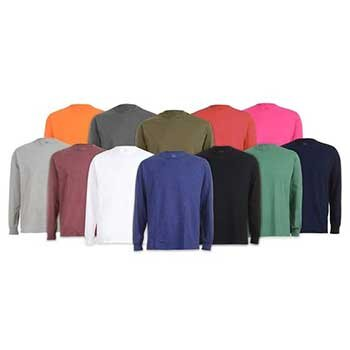 Fruit of the Loom Men's Long Sleeve T-Shirt 6-Pack   Reg Price: $60   Today's Price: $25    via woot!